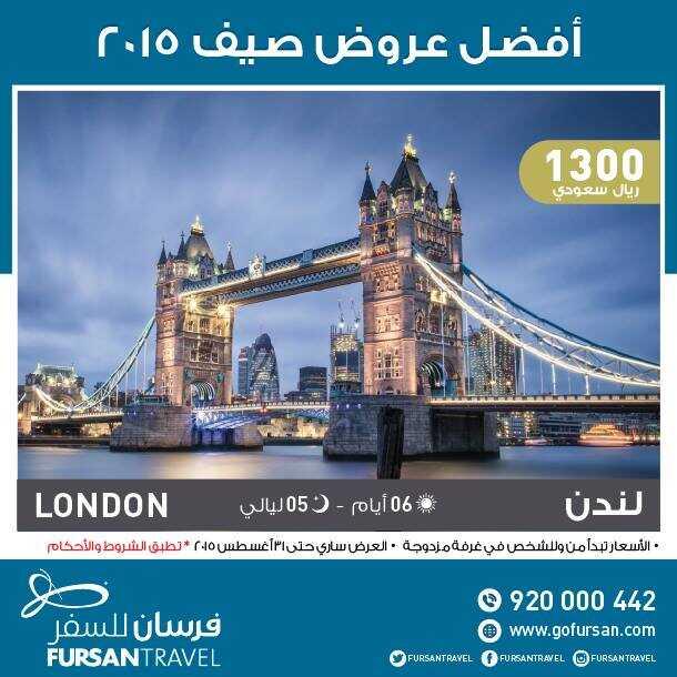 عروض لندن من الفرسان